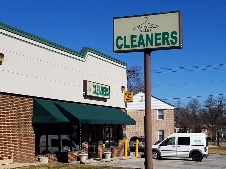 Storefront of Fairfax Valet Cleaners in Wilmington, Delaware